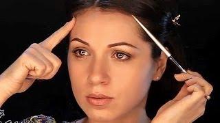 getlinkyoutube.com-Уроки макияжа. Коррекция формы лица с помощью макияжа. Коррекция овала лица.