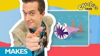 getlinkyoutube.com-CBeebies: Mister Maker - Paper Shark