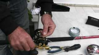 getlinkyoutube.com-fishing rig-ΚΑΛΑΜΙ ΓΙΑ ΣΥΡΤΗ ΜΕ ΜΟΛΥΒΙ ΦΥΛΑΚΑ''sotos fishing.wmv