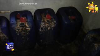 Police raid illegal liquor racket