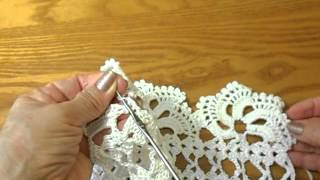 getlinkyoutube.com-Orilla #  1 tejida Crochet