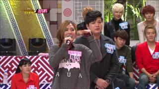 getlinkyoutube.com-【TVPP】MIN(Miss A) - Consolation Match with INFINITE Sungjong, 패자 부활전 @ Idol Star Alkkagi Match