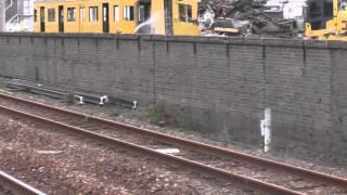 HD【観覧注意!】幡生工場でクハ103-171が解体される!! その3