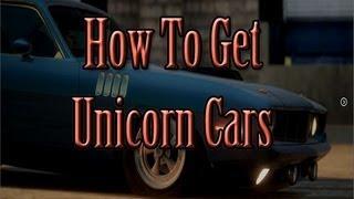getlinkyoutube.com-Forza Horizon - How to Get Unicorn Cars