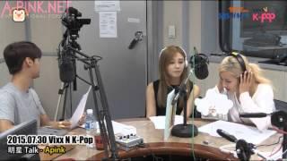 getlinkyoutube.com-[APINKSUBS][150730] SBS PowerFM VIXX N K-Pop - A Pink