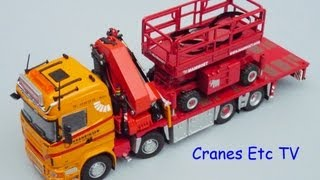 getlinkyoutube.com-Tekno Scania R620 Kranringen Mammoet by Cranes Etc TV