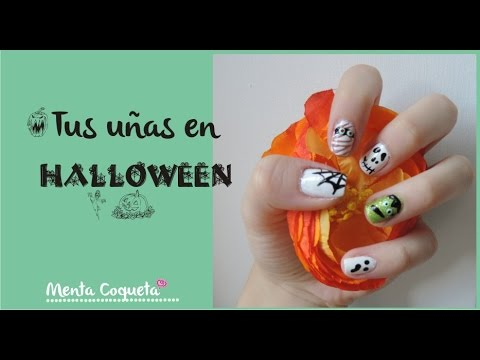 Uñas Decoradas para Halloween ^v^