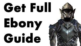 Skyrim: How to Get Full Ebony Armor (No Smithing)