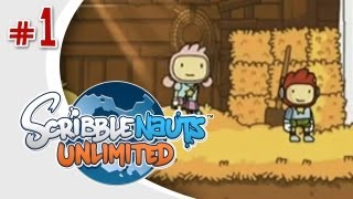 getlinkyoutube.com-GOTTA SAVE LILY - Scribblenauts Unlimited (Wii U) w/ Ze - Episode 1
