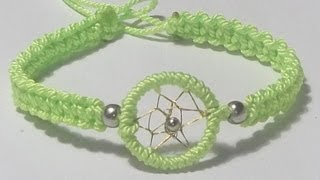 getlinkyoutube.com-TUTORIAL DIY COMO HACER UNA PULSERA ATRAPASUEÑOS REGALO FACIL Y RAPIDO. video diy