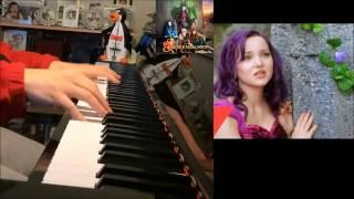 getlinkyoutube.com-Descendants - If Only - Dove Cameron  (Piano Cover by Amosdoll)
