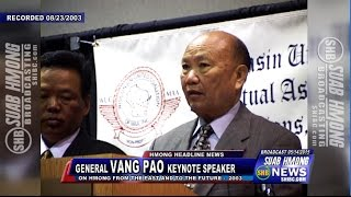 getlinkyoutube.com-SUAB HMONG NEWS:  40 Years Hmong in America - General Vang Pao: Hmong in the past and future