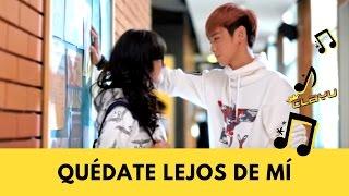 getlinkyoutube.com-Quédate Lejos - HA ASH  y  Maluma ♥