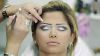 getlinkyoutube.com-makeup Bride by Yollande مكياج عروس مع يولاند