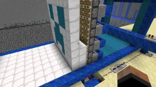getlinkyoutube.com-Minecraft: Redstone powered 3D Printer (Release video)