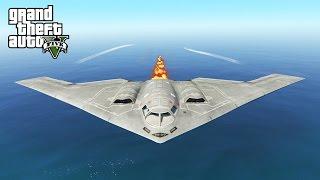 getlinkyoutube.com-EPIC CARPET BOMBING IN GTA 5! B2 BOMBER MOD (GTA V PC Mods)
