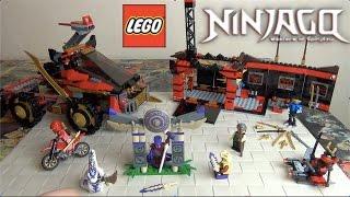 getlinkyoutube.com-Ninjago 2015 Lego Ниндзяго 70750 Мобильная База Ниндзя - Ниндзя Го