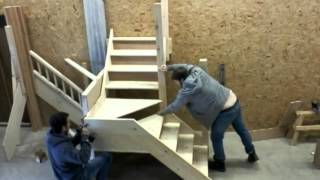getlinkyoutube.com-Kite Winder staircase