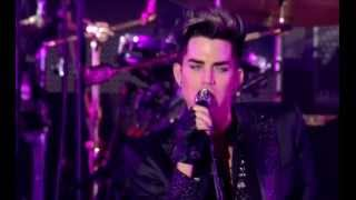 "getlinkyoutube.com-18. Queen & Adam Lambert ""Crazy Little Thing Called Love""(Live in Kiev)"