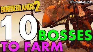 getlinkyoutube.com-Top 10 Best Mini, Regular and Raid Bosses to Farm in Borderlands 2 #PumaCounts