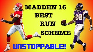 getlinkyoutube.com-Madden 16 BEST OFFENSIVE RUN SCHEME!
