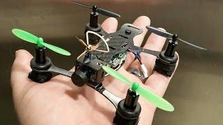 getlinkyoutube.com-Phoenix Flight Gear 110mm Carbon-H Micro Quadcopter
