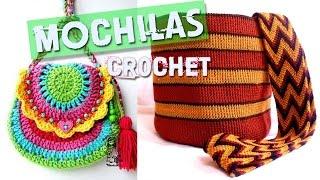 getlinkyoutube.com-Mochilas y Bolsos Tejidos a Crochet