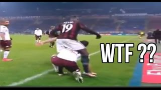 getlinkyoutube.com-Funny Football Moments 2016 - Fails, Dives, Bloopers