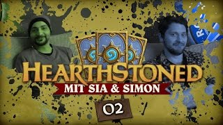 getlinkyoutube.com-[2/4] Hearthstone: Heroes Of Warcraft mit Sia und Simon| Hearthstoned | 06.10.2015