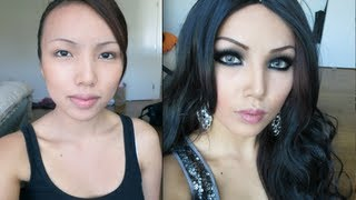 getlinkyoutube.com-Haifa Wehbe Make-up Transformation !!!