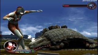 getlinkyoutube.com-Ultraman PS2 (2nd Story Part 4) Ultraman vs Skydon HD
