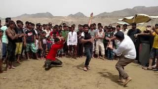 getlinkyoutube.com-BaLochi snake Dance On Kund Malir