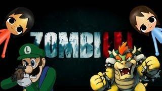 getlinkyoutube.com-ZOMBIU GAMEPLAY: LUIGI vs BOWSER  Mutiplayer Match!! HD