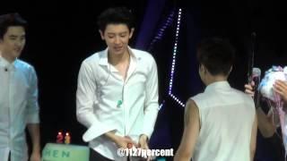 getlinkyoutube.com-140921 EXO TLP in Beijing HAPPY BIRTHDAY CHEN!!(Chanyeol Focus)720p