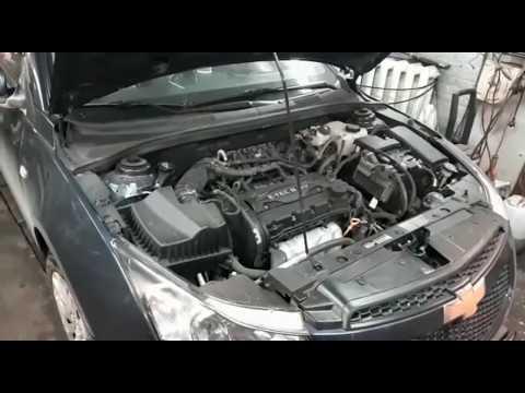 Chevrolet Cruze замена ремня, колпачки, масложер. ремонт У Вадима.