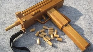 BLOW⇔BACK RUBBER BAND GUN 06.0 MAC10 S.M.G ejection