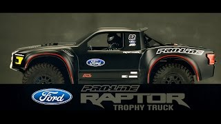 Pro-Line 2017 Ford F-150 Raptor Trophy Truck Clear Body