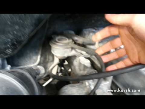 Причина срабатывания аварийного клапана давления наддува
