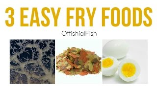 getlinkyoutube.com-3 Easy Fry (baby fish) Foods