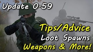 getlinkyoutube.com-DayZ SA Update 0.59 Tips/Advice Loot Spawns Guns & More