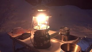 getlinkyoutube.com-【RinderonVG】ソロキャンプvol.12(3/5) 長野雪中林道 solo camping trip 2014/1/27