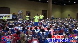 Taekwondo skill development & tactical training with Juan Moreno