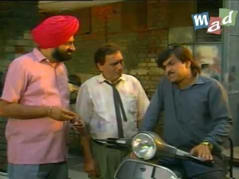 Jaspal Bhatti as a Scooter Mechanic in Full Tension | MAD ARTS, JASPAL BHATTI FILM STUDIO