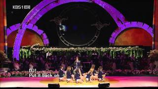 091003 SNSD Genie live at KBS1 (Love Sharing Concert