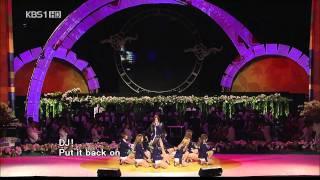 getlinkyoutube.com-091003 SNSD Genie live at KBS1 (Love Sharing Concert