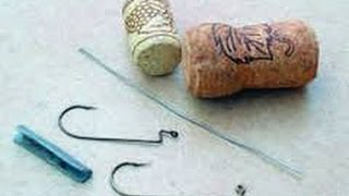 getlinkyoutube.com-Рыбалка. Попер из пробки комбинируем с силиконовыми приманками