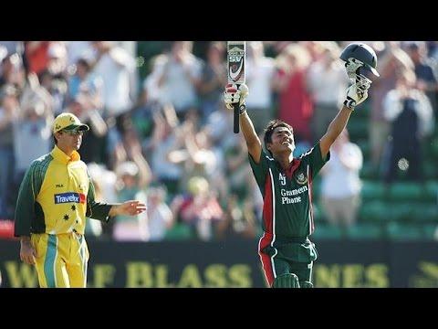 Ashraful (100) against Australia in 2005