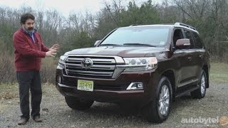 getlinkyoutube.com-2016 Toyota Land Cruiser Test Drive Video Review