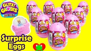 getlinkyoutube.com-Glitzi Globe Surprise Eggs Cinderella Belle Fairies