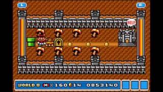 getlinkyoutube.com-Playthrough - Super Mario Advance 4: Super Mario Bros. 3 (e-Reader Enhanced) - World 8 (2) (Part 23)